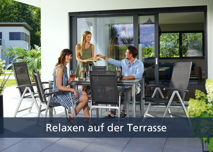Offizieller SIEGER Onlineshop - Erlebniswelt Terrasse