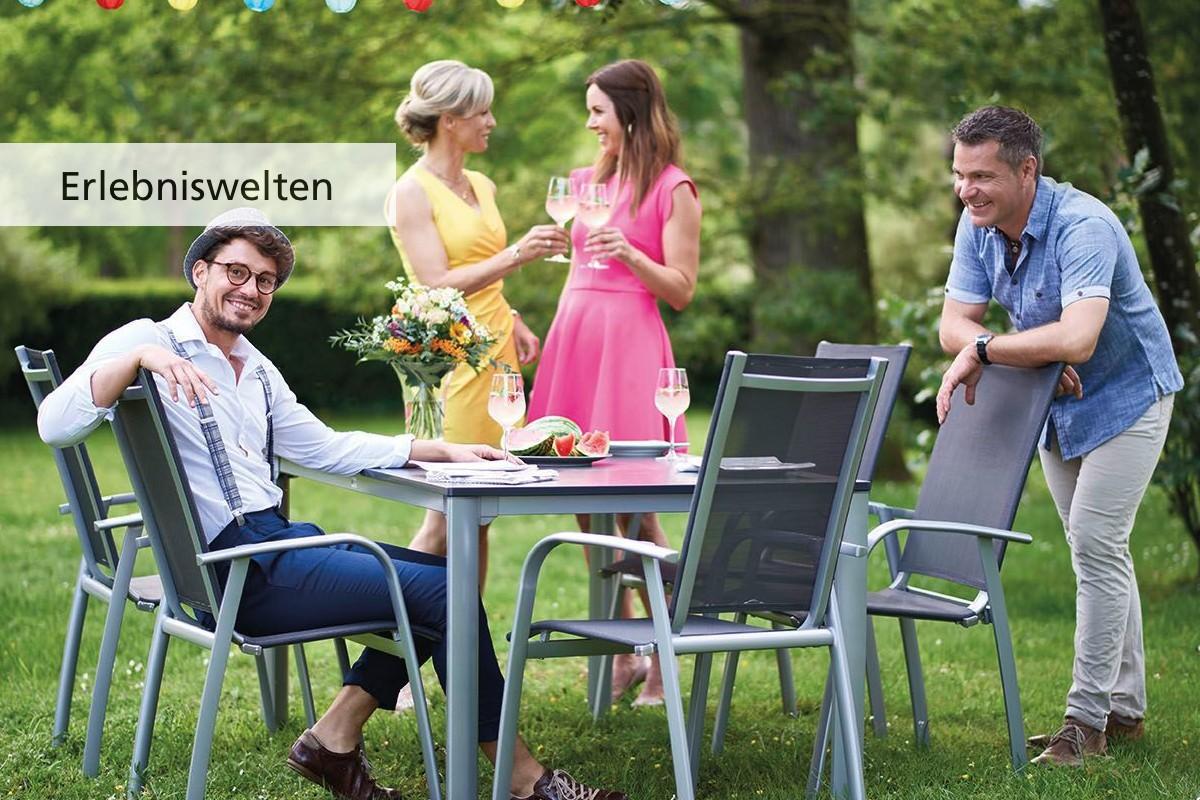 SIEGER Onlineshop Erlebniswelten Gartenmöbel und Balkonmöbel